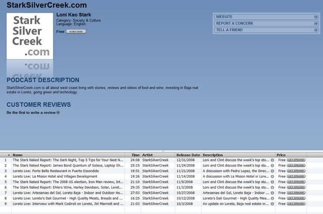 Stark Insider iTunes