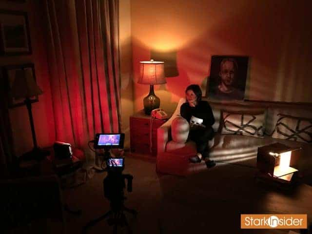 Loni Stark BTS shooting video for Stark Insider