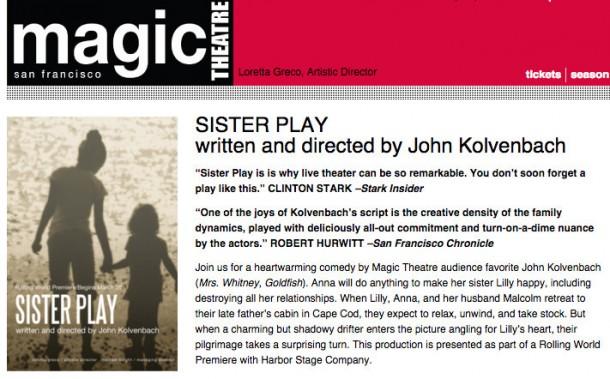 Magic Theatre - Stark Insider Review - San Francisco