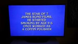 Sean Connery Coffin Polisher - Ron Stark - Scotland