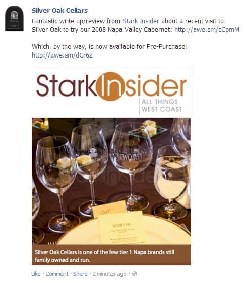 Stark Insider's food and wine coverage is widely cited, and influences buying decisions across the Internet, be it Twitter, Facebook, Pinterest, YouTube or the Stark Insider web site.