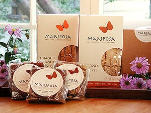 Some Mariposa products