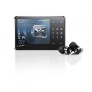 The Creative Zen X-Fi MP3 Video player from Sansa offers lots of features, ease-of-use and attractive price.