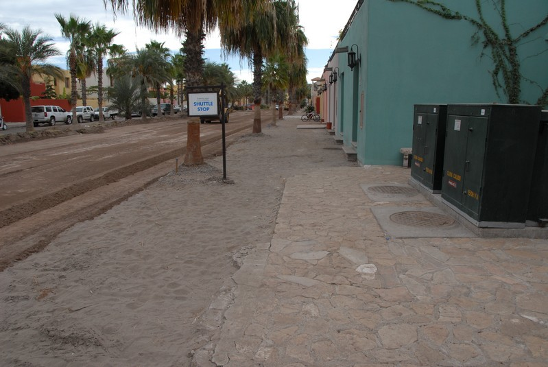 Another view of the Paseo.