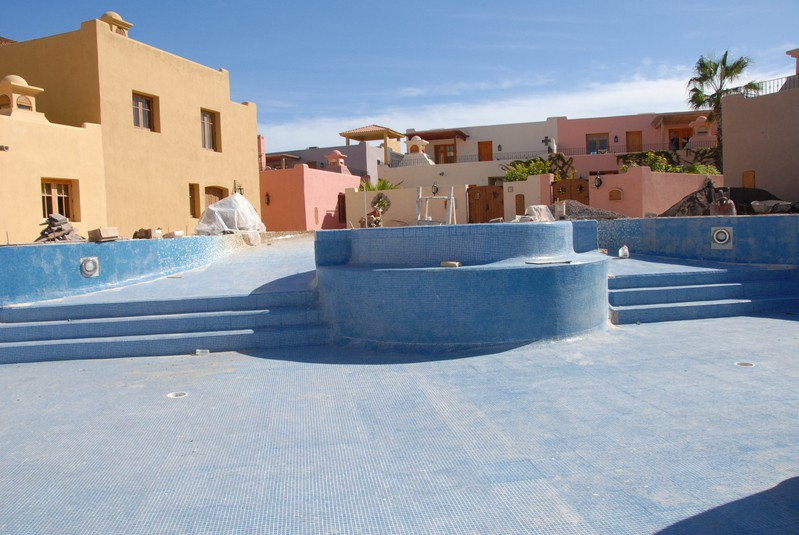 Another view of the swimming pool in Founder's
