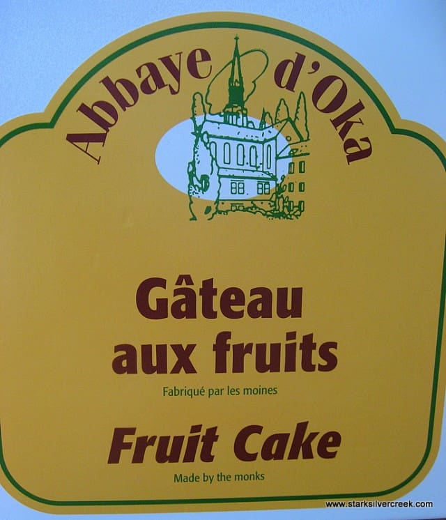 Fruit Cake Made By Monks