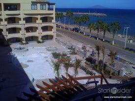 La Mision Hotel construction in Loreto Baja