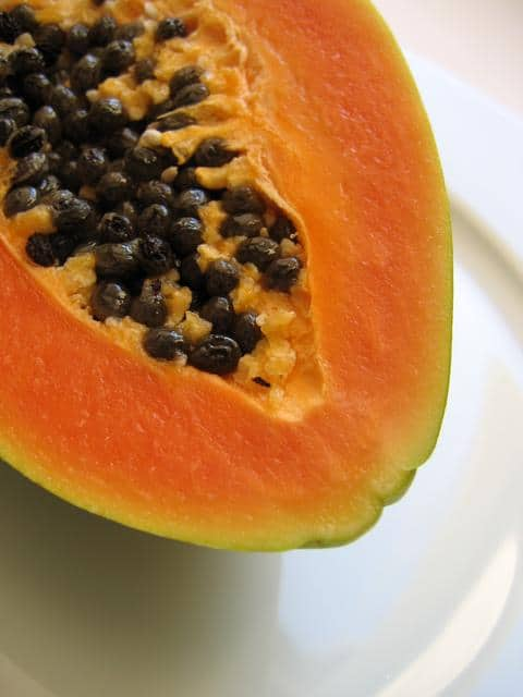 I have no papaya today, too---day!