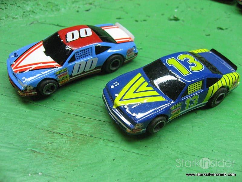 Lifelike Racing Slot Car Track