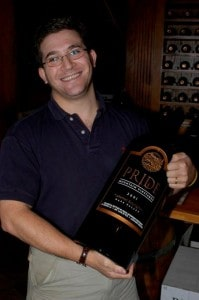 Eric Levine, founder of CellarTracker!, now with over 63,000 members (Eric: don't drink that all at once!)