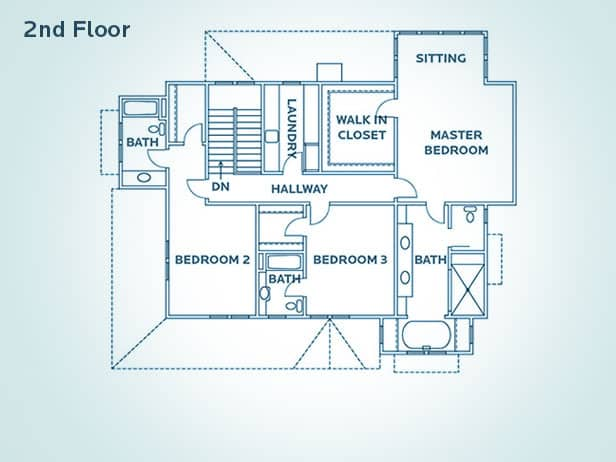 A trend that has been growing is having a spectacular master bedroom. People are really looking for that retreat feel.