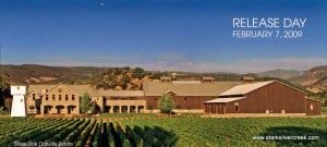 The new Silver Oak estate in Oakville, Napa Valley
