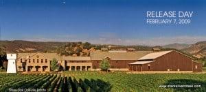 The new Silver Oak estate in Oakville, Napa Valley