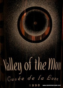 "The unique Valley of the Moon ""label"". Who exactly is this mysterious cuvee?"
