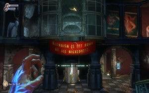 An underwater city of warped ideals?