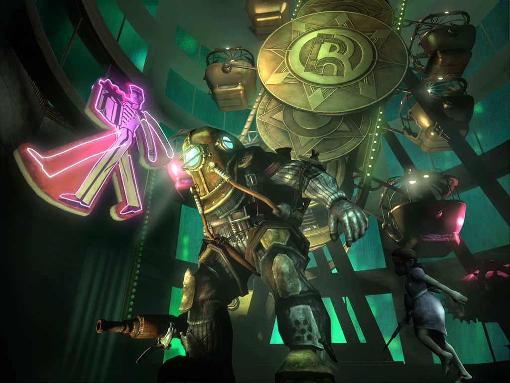 bioshock and the underwater city of rapture are wonderful eye candy