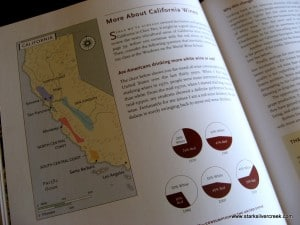 Each page is an entertaining mix of information, storytelling and wine lore.
