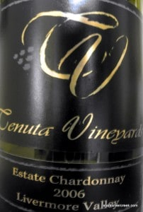 Tenuta Vineyards Estate Chardonnay 2006 Livermore Valley
