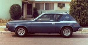 The AMC Gremlin: 4-speed was optional, but not the fires