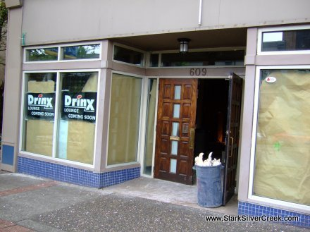 New taking over the old on Columbia Street