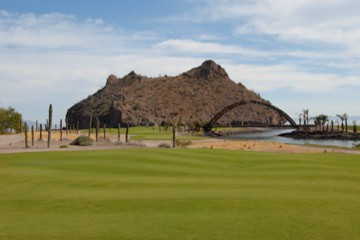 Loreto Bay Golf Course, 18 holds now open (photo: Al Graichen, from Club Loreto Bay)