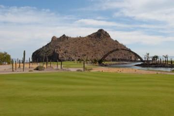 Loreto Bay Golf Course, 18 holds now open (photo: Al Graichen, from Club Loreto Bay)