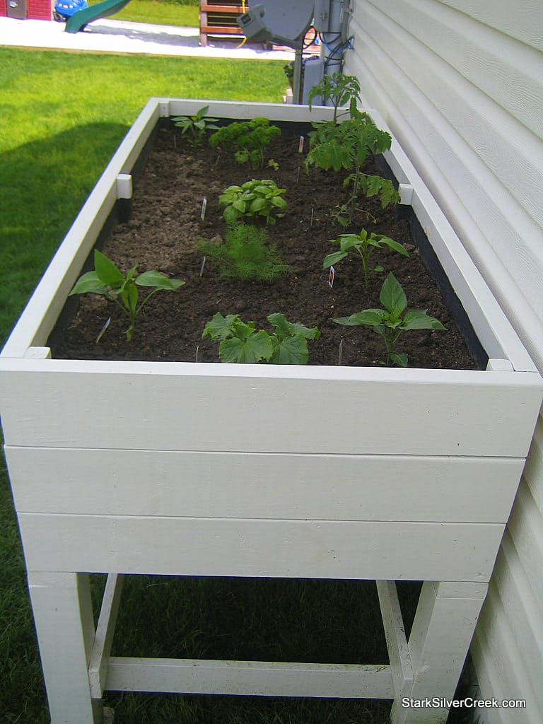 Planter Boxes Planters And In The Corner On Pinterest: All-star: Loni's Vegetable Garden, Planter Box How-to