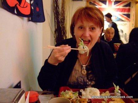 Sushi in Gastown