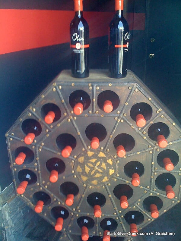 Olin Wines Wheel