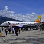 Druk Air: on the ground in Bhutan!