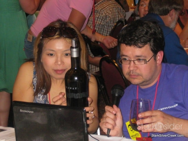 Wine Bloggers Conference - Loni Kao Stark and Hardy Wallace