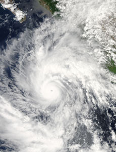 Hurricane Jimena Photo: NASA