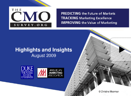 cmo-survey-duke-fuqua-2009-findings