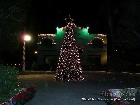 Christmas tree in Loreto