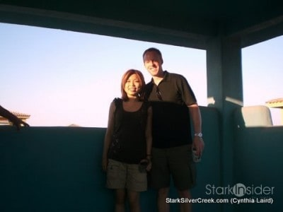 Loni and Clint - they are building in the Agua Viva neighborhood