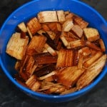 Soak the wood chips