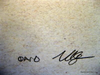 Signed Sara Bareilles Concert Poster