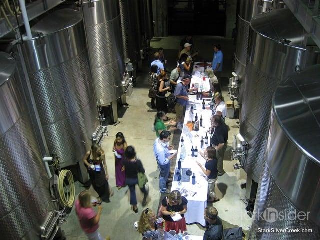 grand wine tasting quintessa wine bloggers conference sonoma