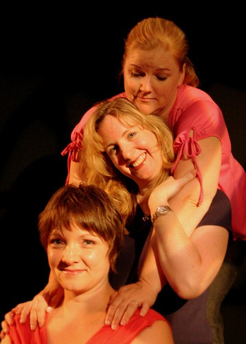 From top to bottem: Sisters Tereasa (Laura Jane Bailey), Mary (Meredith Hagedorn), & Catherine (Janine Evans)  Photographer: James Kasyan