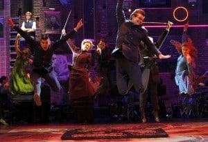 The cast of the National Tour of SPRING AWAKENING at Broadway San Jose. Photo credit: Paul Kolnik