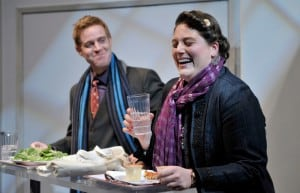 Jud Williford and Liliane Klein in Fat Pig  Photo by David Allen