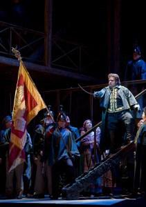 Johan Botha (Otello) photo by Cory Weaver