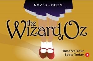 Wizard of Oz by Berkeley Playhouse