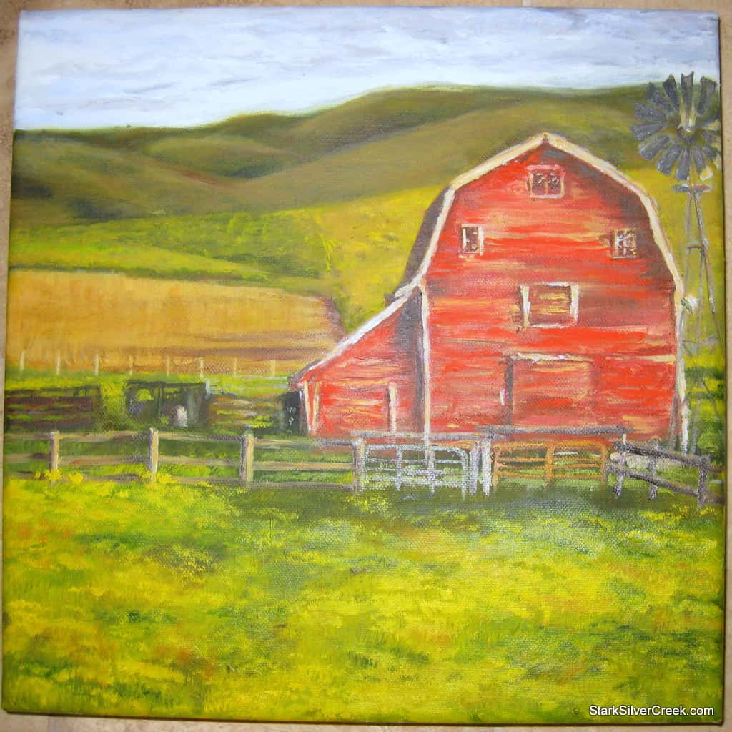 red-barn-oil-painting