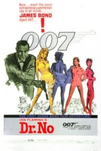 Dr. No poster from 1962