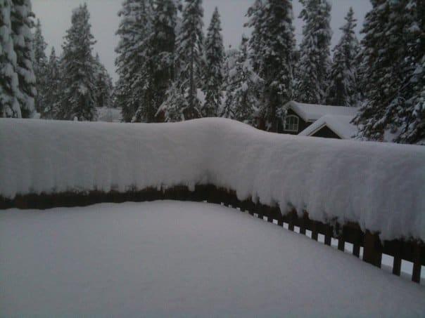 Snow in Tahoe