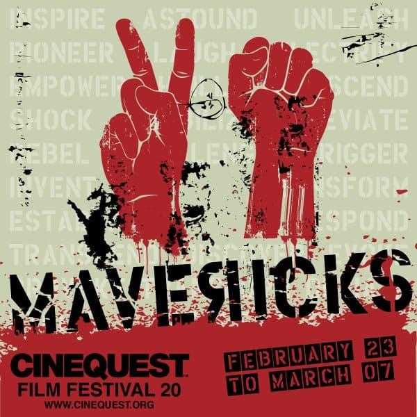 Cinequest Film Festival 20 Marketing Campaign Poster