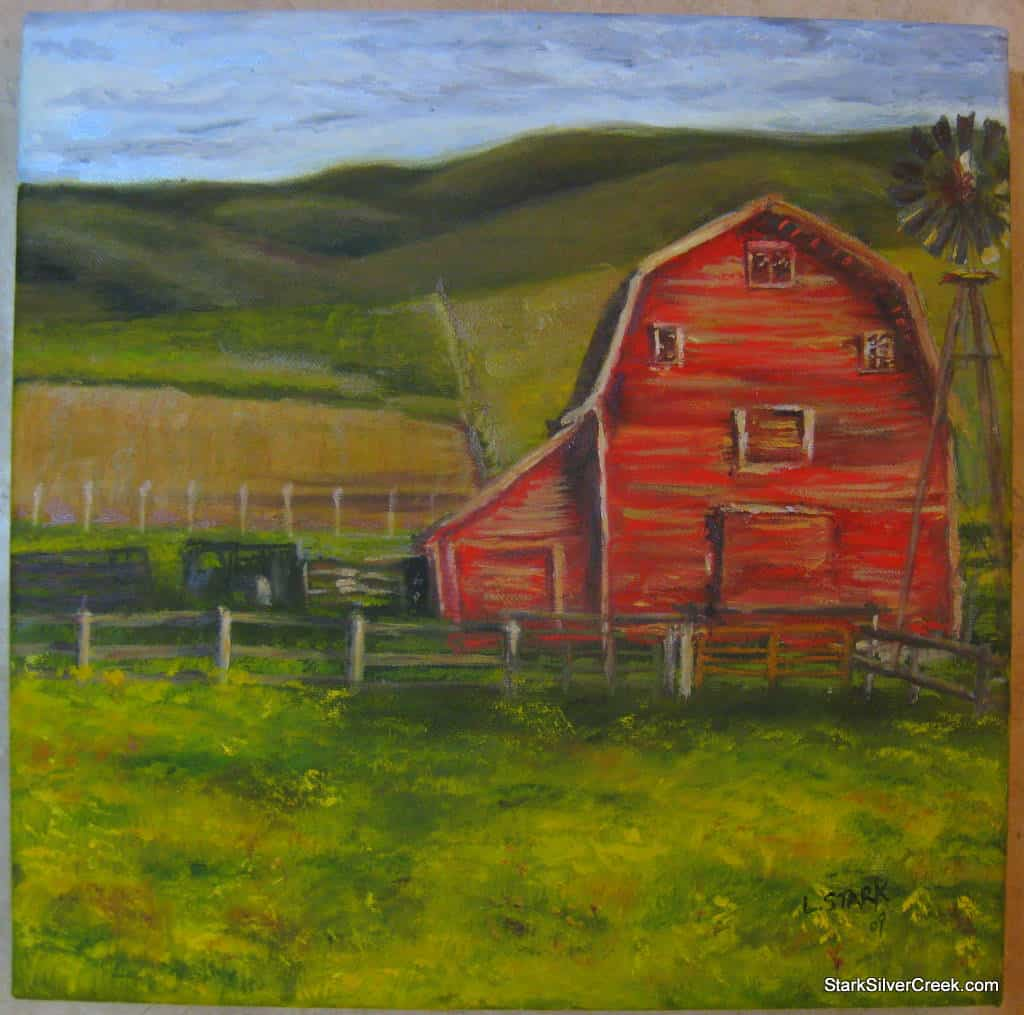 Red-Barn-Oil-Paintings