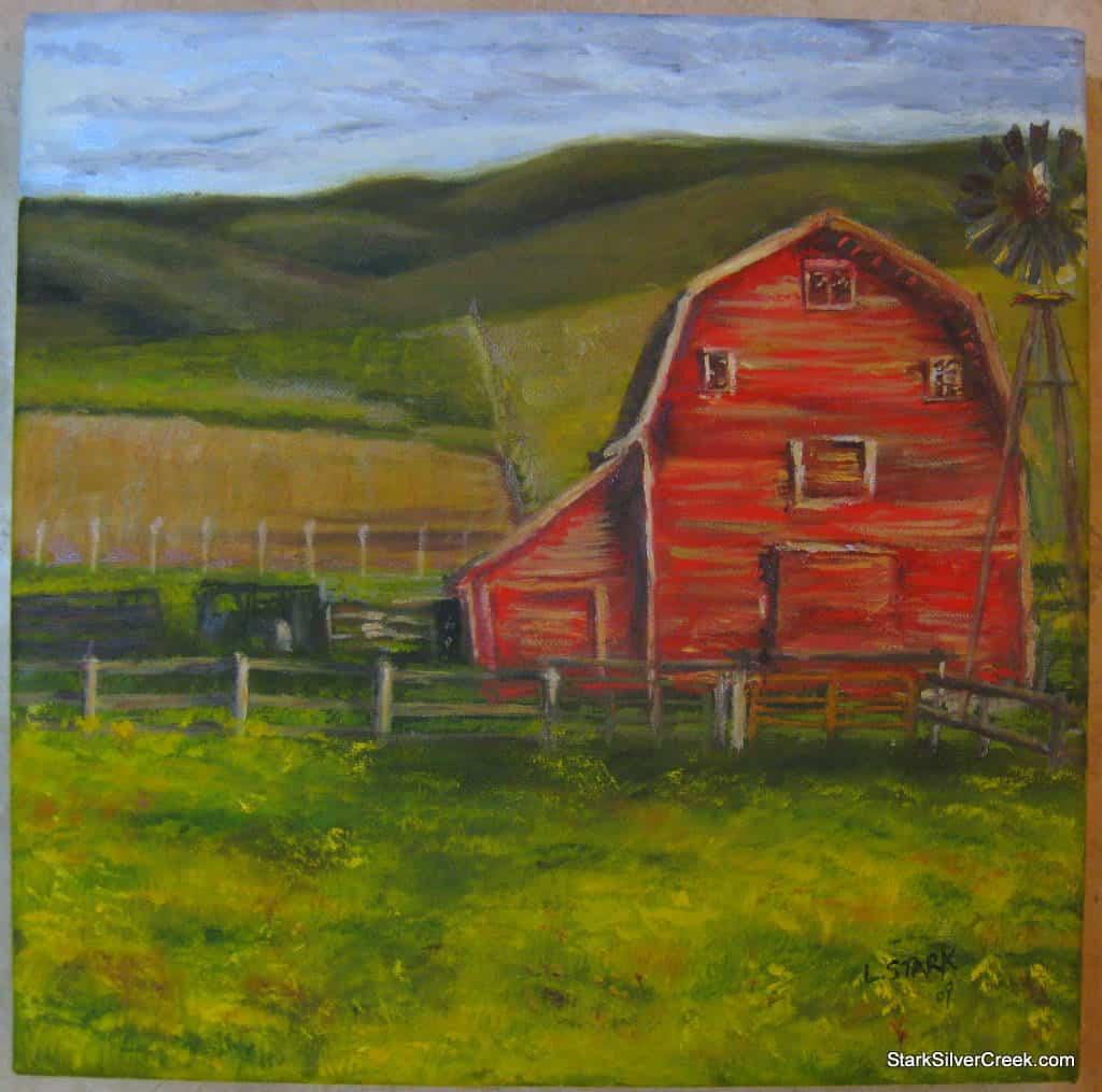 Red-Barn-Oil-Paintings