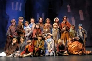 The young actors of A Christmas Carol are all students in A.C.T.'s acclaimed Young Conservatory.